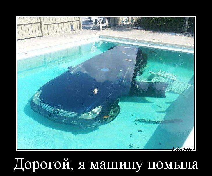 демотиваторы о мойке машин берёзка