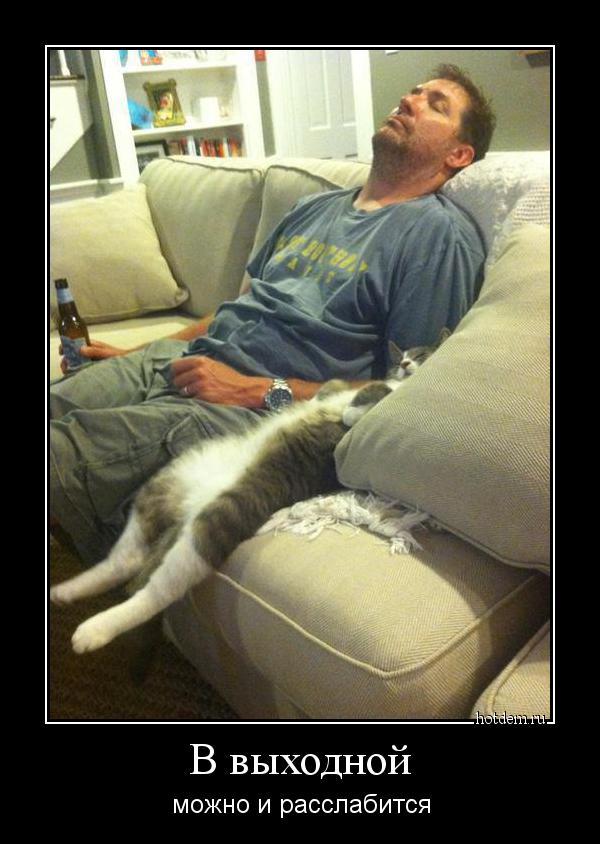 Лежать на диване демотиваторы