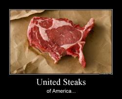 United Steaks of America...